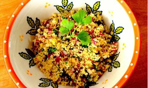 Пасхальный салат с КУС-КУСом