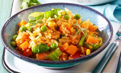 Плов из овощей