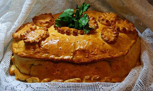 Фантастическое угощение для всей семьи - Кулебяка!