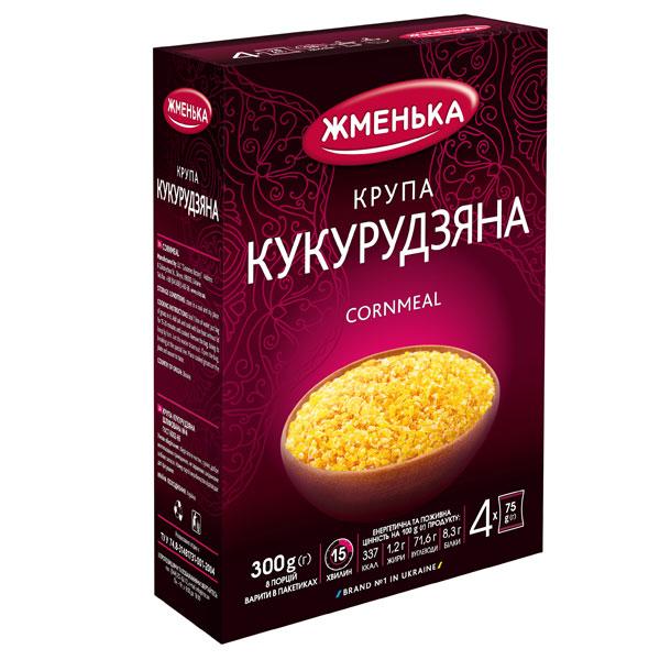 Крупа кукурудзяна в пакетиках для варіння