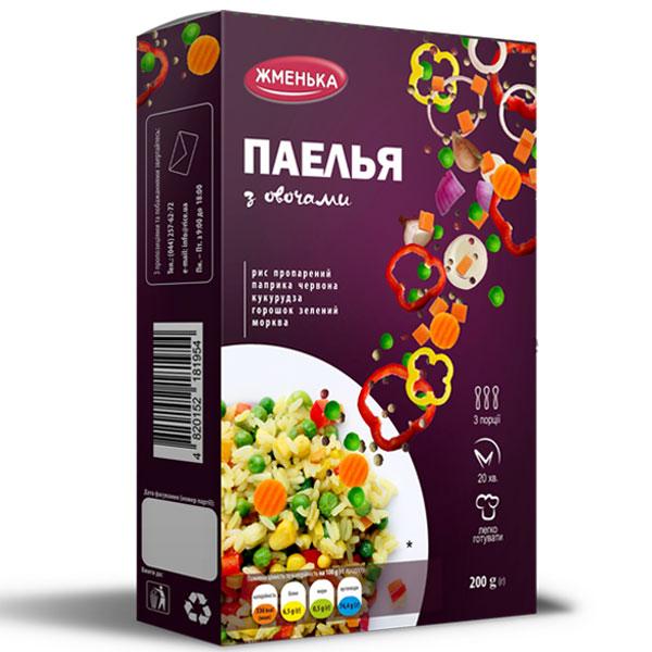 Паелья з овочами
