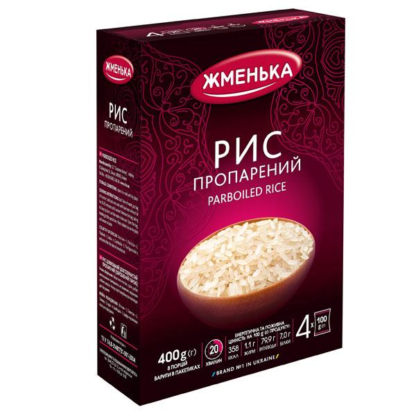 Пропарений рис
