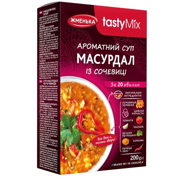 Ароматний суп масурдал із сочевиці
