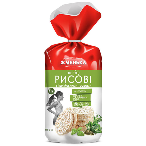 Хлібці рисові з італійськими травами